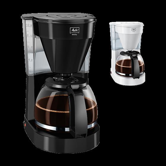 Easy Filterkaffeemaschine, schwarz