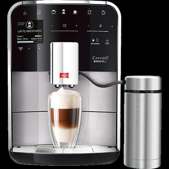 Caffeo Barista® TS Kaffeevollautomat, Edelstahl (Auslaufversion)