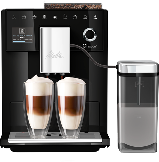 CI Touch® Kaffeevollautomat, schwarz (2.Wahl)