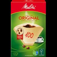 Melitta® Original coffee filters 100, brown