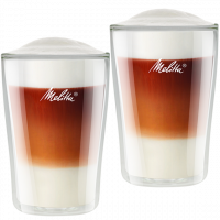 Double-Walled Latte Macchiato Glass