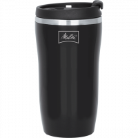 250ml Black Thermal Mug