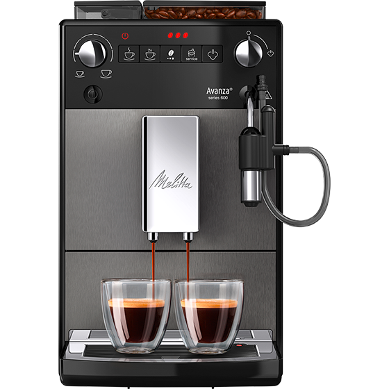 Avanza Series 600 Fully Automatic Coffee Machine Mystic Titan