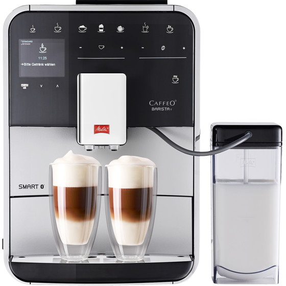 Barista T Smart® Kaffeevollautomat, silber (2. Wahl)