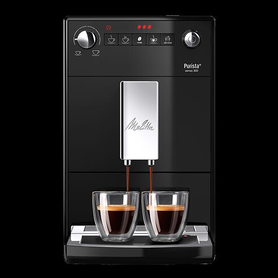 Purista® series 300 Kaffeevollautomat, schwarz