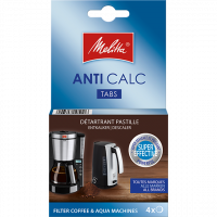 ANTI CALC Tabs For Filter Coffee Machines and Kettles