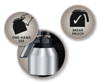 Double walled, unbreakable, stainless steel insulated pot