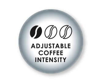 Adjustable coffee strength