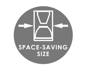 Space-saving design