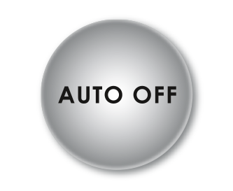 Auto-Off feature – coffee enjoyment for relaxing