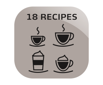 18 coffee specialities