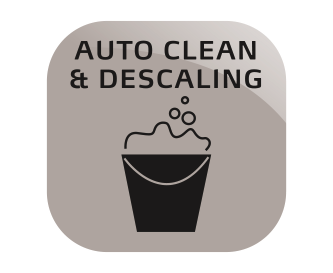 Automatic cleaning and descaling programme
